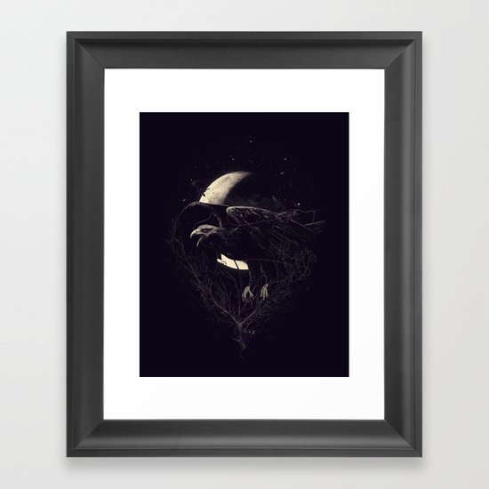 NightFlight Framed Art Print