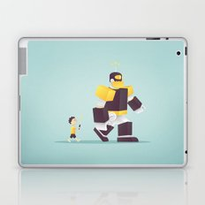 the robot my dad never gave me Laptop & iPad Skin