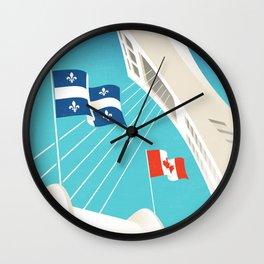 Montreal - Quebec - Canada Wall Clock