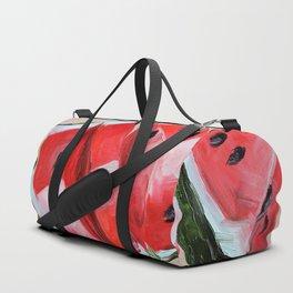 Fruit, watermelon, summer Duffle Bag