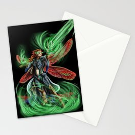 Dragonfly Mage Stationery Cards