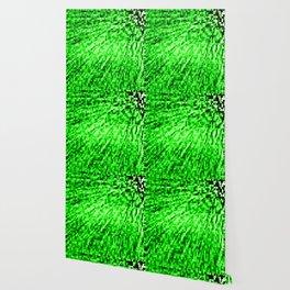 Green Pixel Wind Wallpaper
