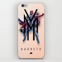 Heroes and Villains Series 2: Magneto iPhone Skin