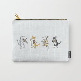 String Meowtet Carry-All Pouch