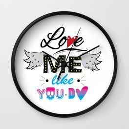 love me like you do Wall Clock