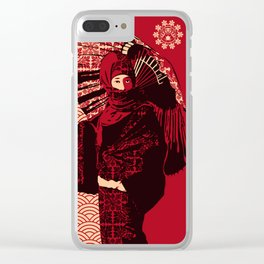 ASIAN WOMAN Clear iPhone Case