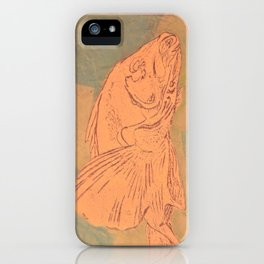 Pale Fish iPhone Case