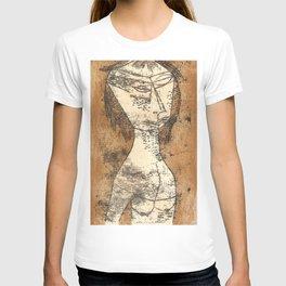 The Saint of the Inner Light  by Paul Klee T-shirt
