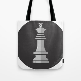queen glance b&w Tote Bag