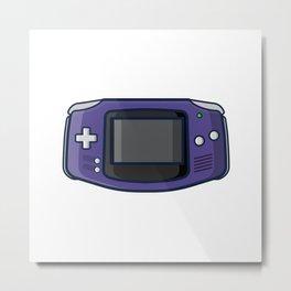 Retro Gaming: Game Boy Advance Metal Print