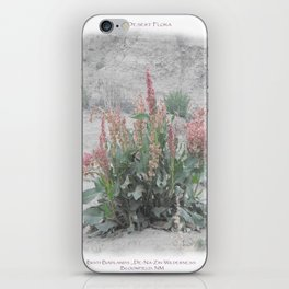 Desert Flora iPhone Skin