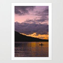 Lake Nicaragua Art Print