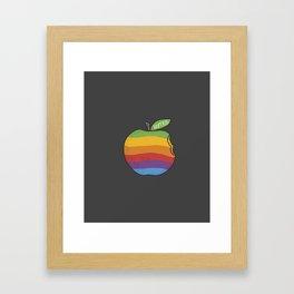 Bytes Framed Art Print