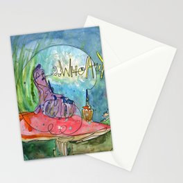 Alice and the Caterpillar Stationery Cards