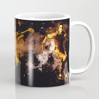 football Mugs featuring Football by Frauste