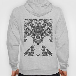 Unity of Halves - Life Tree - Rebirth - White Hoody