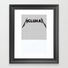 Heavy Metal Thunders Framed Art Print