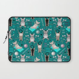 Fitness for cats Laptop Sleeve