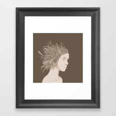 NATURE PORTRAITS 01 SIMPLIFIED Framed Art Print