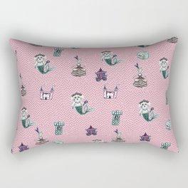 fairytale print Rectangular Pillow