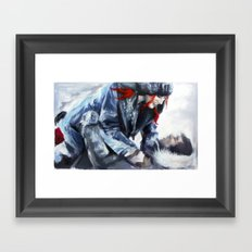 fire and ice I Framed Art Print