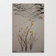 Spring begins Canvas Print