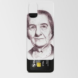 Golda Meir Android Card Case