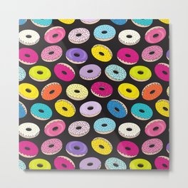 Donut Dreams by Everett Co Metal Print