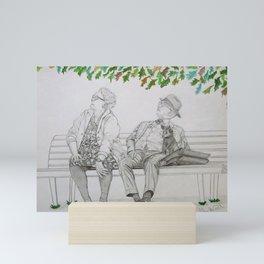 Passing Time. Mini Art Print