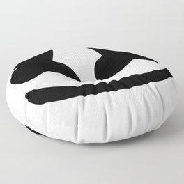 Marshmello smile Floor Pillow