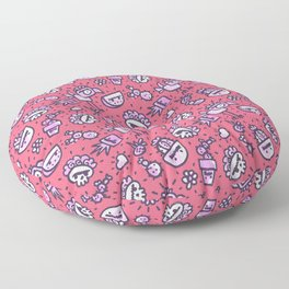Frida Dreams Pink Floor Pillow