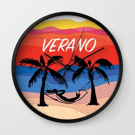 Verano Wall Clock