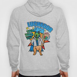 Mexican Wrestling Squirrel Tito Hoody