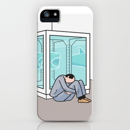 Return to the Impossibility of Death iPhone Case