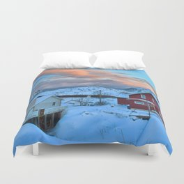 A Ridiculously Beautiful Sky Duvet Cover