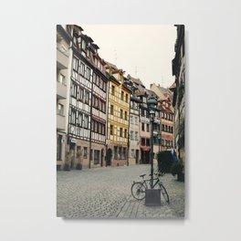 Old Town Metal Print
