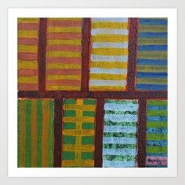 Crossing Lines Art Print