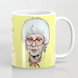 Sophia Petrillo from The Golden Girls (Yellow) Coffee Mug