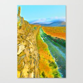 Mountain Walk. Canvas Print