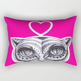 Cat P Rectangular Pillow