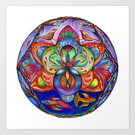 The Seed Mandala Art Print