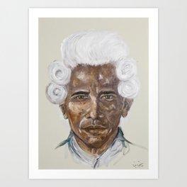 American Dream (Obama) Art Print