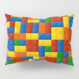 Plastic pieces pattern Pillow Sham