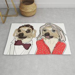 Celebrity Dogs-Ryan Chew-Crest & Kelly Ruff-A Rug