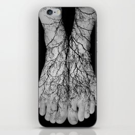 Our roots lie within our veins. iPhone Skin