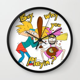 Playin' Wall Clock