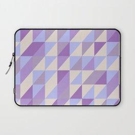 Purple n Hashed Laptop Sleeve