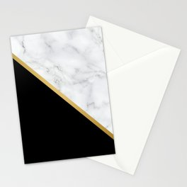 Marble, Stone, Color Block, Minimalist Art Stationery Cards