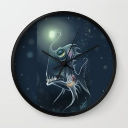 Self Hypnosis, Glass Fish Wall Clock