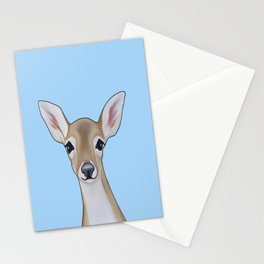 Portrait of a Fawn Stationery Cards
